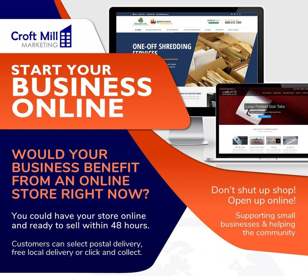 start an online shop