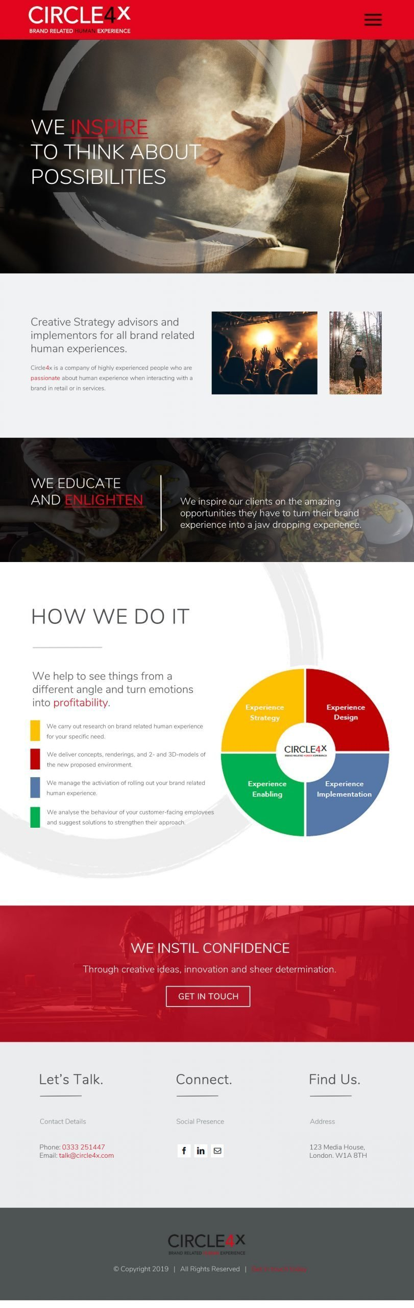 Circle4x design v1 web