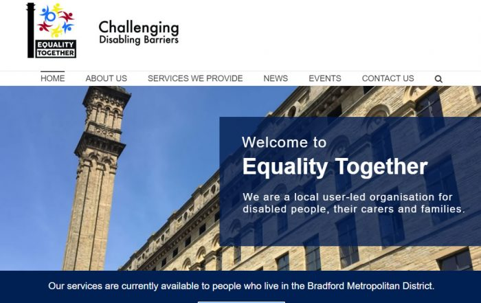 charity website for equality together